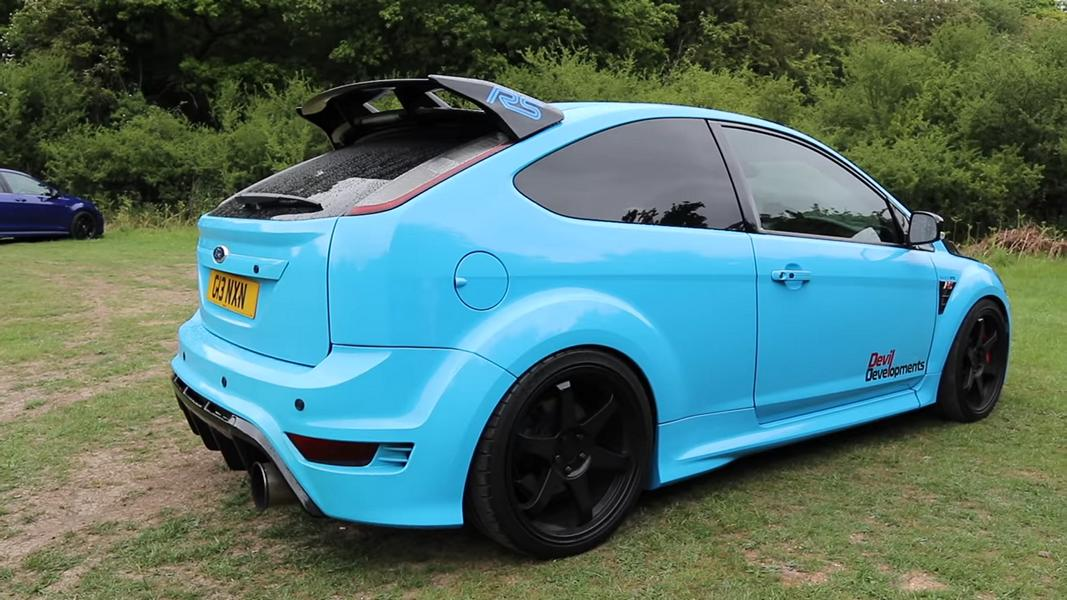 Frontantrieb 900 PS Ford Focus RS MK2 Tuning 38 Ohne Worte Frontantrieb und 900 PS im Ford Focus RS