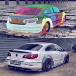 Lion's Kit Widebody Radi8 r8t12 VW Passat CC Tuning Airride 2 155x155 Top! Widebody Kit & Radi8 Alufelgen am VW Passat CC