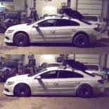 Lion's Kit Widebody Radi8 r8t12 VW Passat CC Tuning Airride 4 155x155 Top! Widebody Kit & Radi8 Alufelgen am VW Passat CC