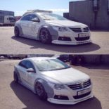 Lion's Kit Widebody Radi8 r8t12 VW Passat CC Tuning Airride 9 155x155 Top! Widebody Kit & Radi8 Alufelgen am VW Passat CC