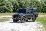 Military style Land Rover Defender 110 Tuning 26 155x103 Military style: Land Rover Defender 110 von ECD Automotive