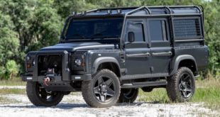 Military style Land Rover Defender 110 Tuning 4 310x165 Soft Top Land Rover Defender 110 4x4 vom Tuner ECD