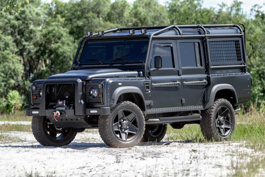 Military style Land Rover Defender 110 Tuning 4 Military style: Land Rover Defender 110 von ECD Automotive