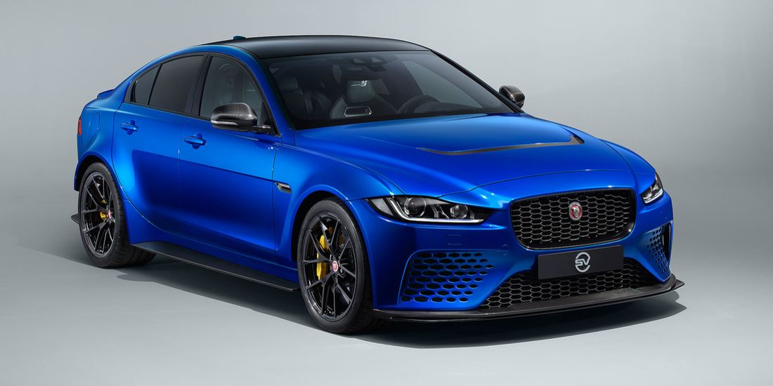 Project 8 Touring Jaguar XE 600 PS V8 Tuning 2019 1 Ohne Heckflügel   Project 8 Touring Jaguar XE mit 600 PS V8