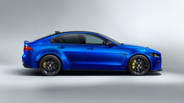 Project 8 Touring Jaguar XE 600 PS V8 Tuning 2019 2 Ohne Heckflügel   Project 8 Touring Jaguar XE mit 600 PS V8
