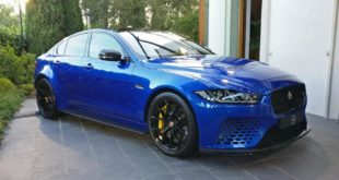 Project 8 Touring Jaguar XE Tuning 2019 310x165 Ohne Heckflügel   Project 8 Touring Jaguar XE mit 600 PS V8