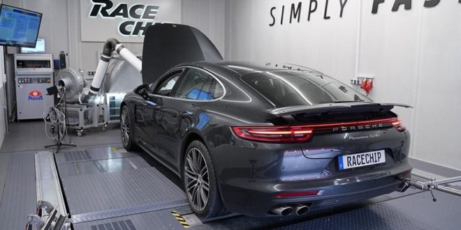 Video: 650 PS im RaceChip Porsche Panamera Turbo 2019