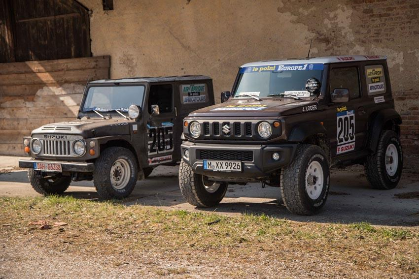Suzuki Jimny delta4x4 Dakar Offroad Tuning 2019 1 Back to the Roots of Dakar   Suzuki Jimny von delta4x4
