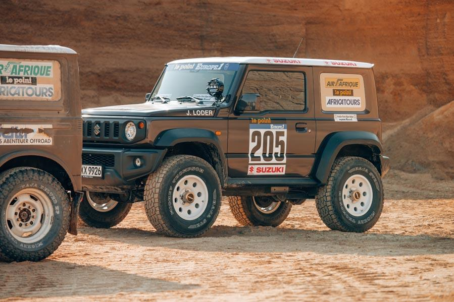 Suzuki Jimny delta4x4 Dakar Offroad Tuning 2019 6 Back to the Roots of Dakar   Suzuki Jimny von delta4x4