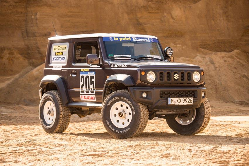 Suzuki Jimny delta4x4 Dakar Offroad Tuning 2019 9 Back to the Roots of Dakar   Suzuki Jimny von delta4x4
