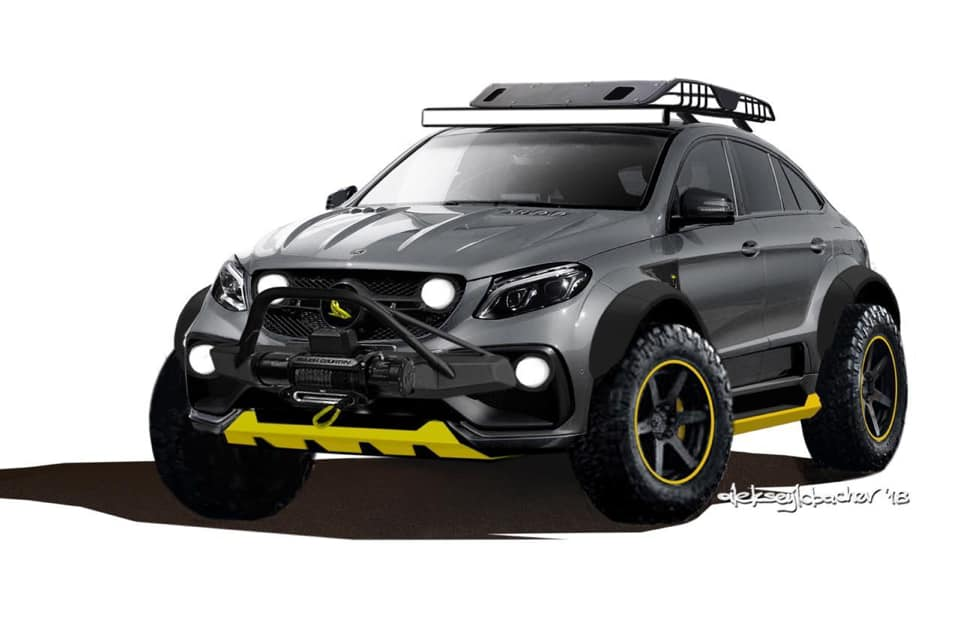 TOPCAR Mercedes GLE Coupe INFERNO 4x4 Tuning 2019 1 Vorschau: TOPCAR Mercedes GLE Coupe INFERNO 4x4*2