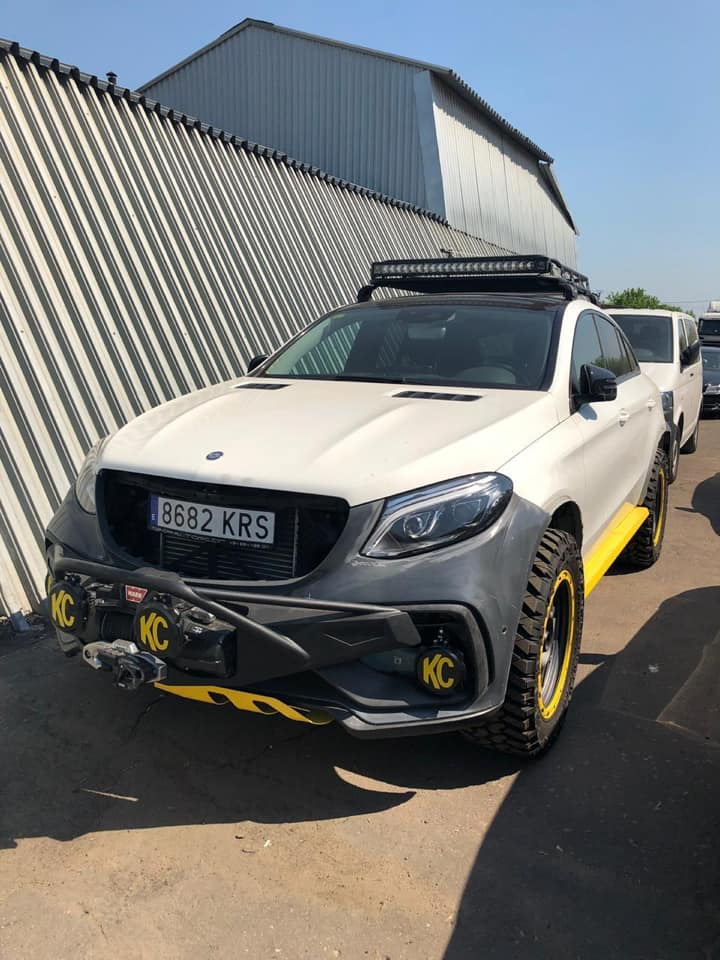 TOPCAR Mercedes GLE Coupe INFERNO 4x4 Tuning 2019 2 Vorschau: TOPCAR Mercedes GLE Coupe INFERNO 4x4*2