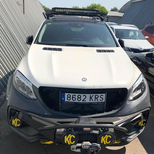 TOPCAR Mercedes GLE Coupe INFERNO 4x4 Tuning 2019 3 Vorschau: TOPCAR Mercedes GLE Coupe INFERNO 4x4*2