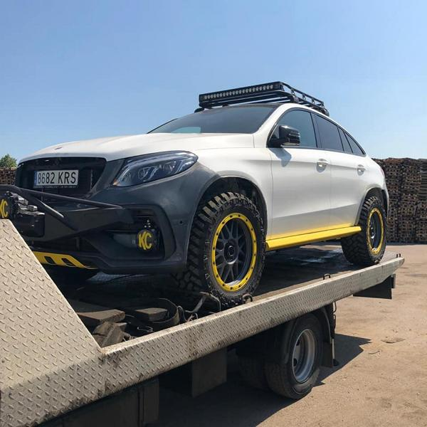 TOPCAR Mercedes GLE Coupe INFERNO 4x4 Tuning 2019 4 Vorschau: TOPCAR Mercedes GLE Coupe INFERNO 4x4*2