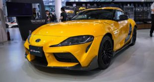 Toyota Supra TRD Aeroteile Carbon Bodykit Tuning 2 310x165 Video: 800 PS BMW M3 mit E Antrieb vom Tesla Model S