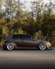 VW Golf 5 MKV Clinched Widebody Tuning 21 190x238 Fett: VW Golf 5 (MKV) mit Clinched Widebody Aufsätzen
