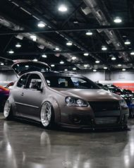 VW Golf 5 MKV Clinched Widebody Tuning 30 190x238 Fett: VW Golf 5 (MKV) mit Clinched Widebody Aufsätzen