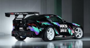 2JZ Toyota GR Supra Driftcar HKS Goodwood 310x165 Video: 1.139 HP am Rad   Hennessey 2019 ZR1 Corvette