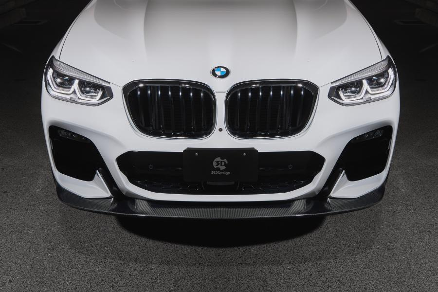 3d Design Bodykit Made Of Carbon For The Bmw X3 M Sport