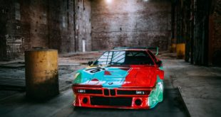 40 Jahre Andy Warhol BMW M1 Art Car 2 310x165 802 PS & 1050 NM im Pagani Huayra Roadster BC (2019)