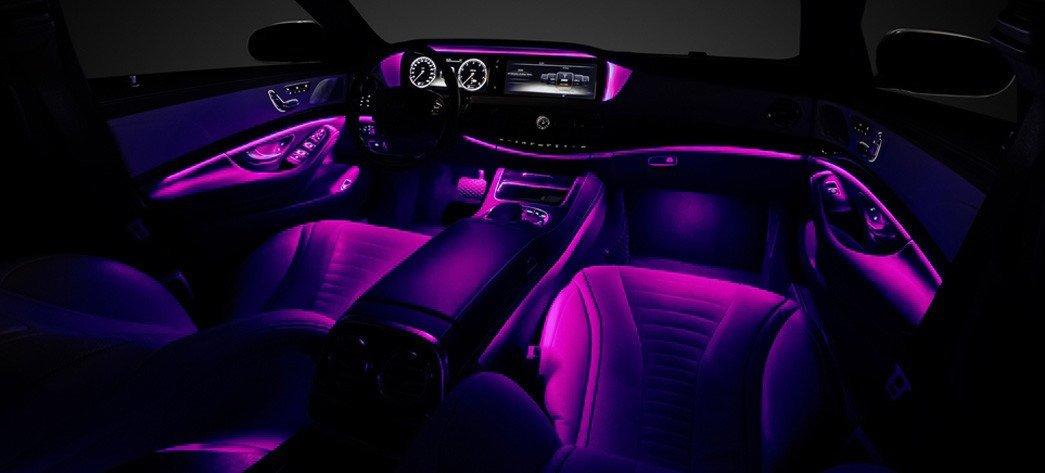 Interior With An Ambient Lighting