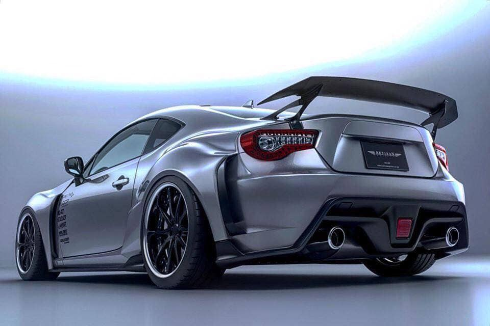 Artisan Spirits Widebody Toyota GT86 Coupe Tuning 9 In Arbeit   Artisan Spirits Widebody Toyota GT86 Coupe