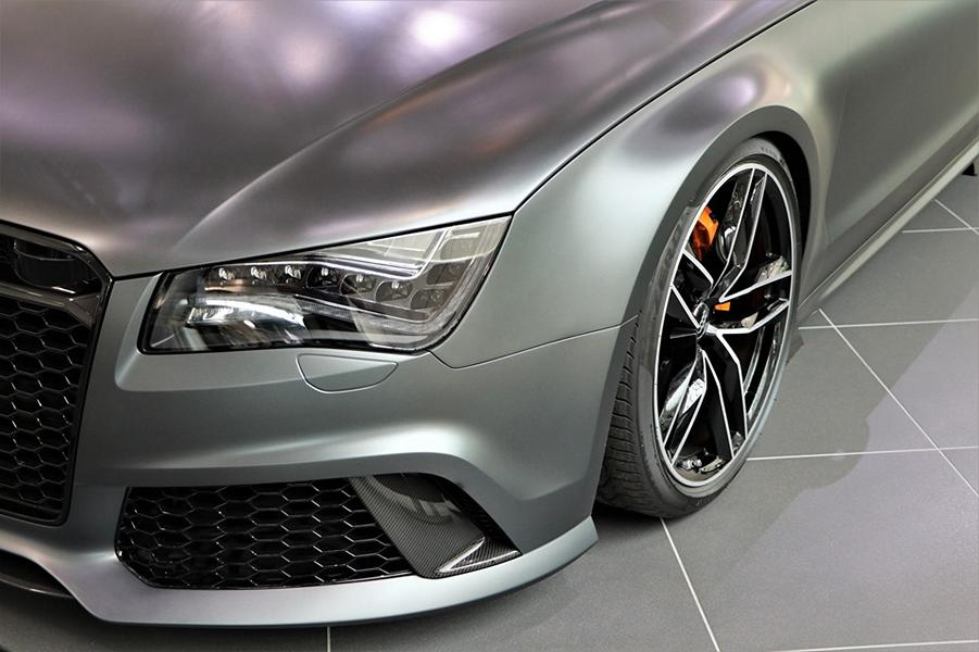 Audi RS 8 RS8 Tuning D4 4H 4 Prototyp in mattschwarz: Audi RS 8 Limo auf Basis D4 (4H)