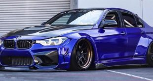 Clinched Widebody BMW F30 Airride Tuning 1 1 310x165 Extreme: Clinched Widebody BMW 3 Series (F30) Sedan