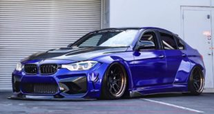 Clinched Widebody BMW F30 Airride Tuning Header 310x165 Extrem: Clinched Widebody BMW 3er (F30) Limousine