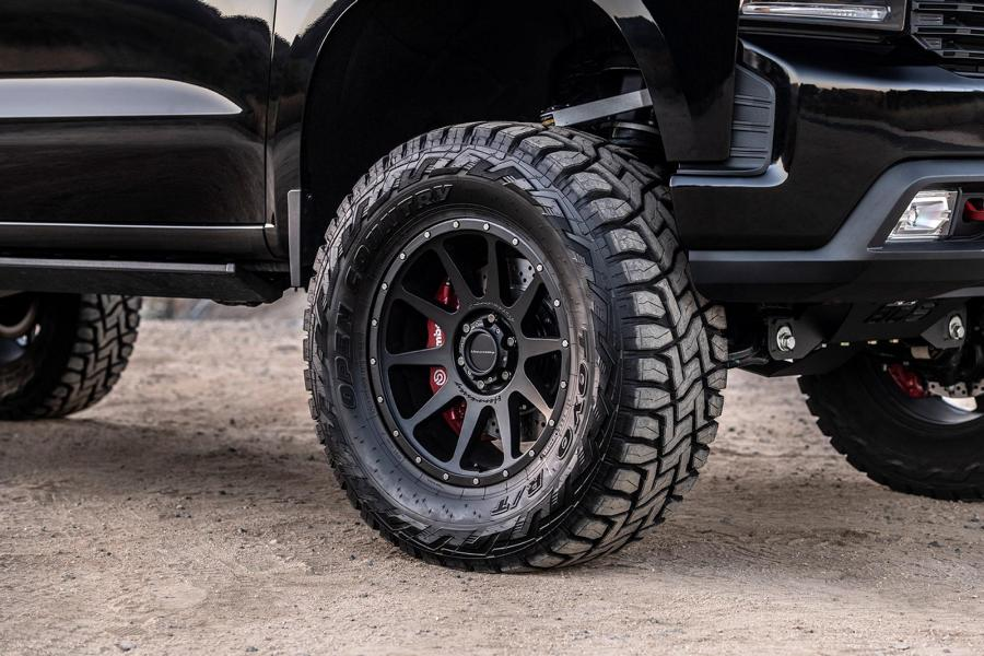 Hennessey Goliath 705 PS Chevrolet Silverado Goliath 6×6 Tuning 13 Fertig: 705 PS Hennessey Chevrolet Silverado 6×6 Goliath