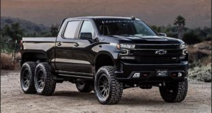 Hennessey Goliath 705 PS Chevrolet Silverado Goliath 6×6 Tuning Header 310x165 Fertig: 705 PS Hennessey Chevrolet Silverado 6×6 Goliath