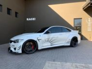 Liberty Walk Widebody BMW M4 F82 Vossen Brembo Tuning 1 190x143 Liberty Walk Widebody BMW M4 F82 Coupe by RACE!