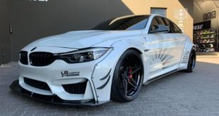 Liberty Walk Widebody BMW M4 F82 Vossen Brembo Tuning 16 310x165 Liberty Walk Widebody BMW M4 F82 Coupe by RACE!