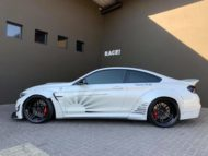 Liberty Walk Widebody BMW M4 F82 Vossen Brembo Tuning 2 190x143 Liberty Walk Widebody BMW M4 F82 Coupe by RACE!