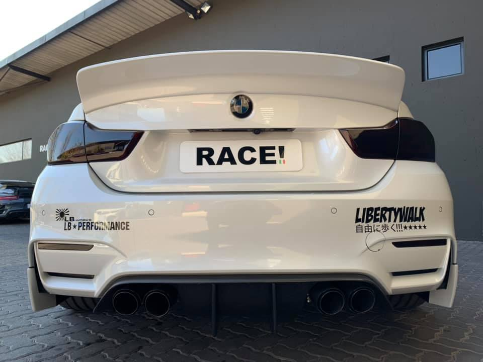 Liberty Walk Widebody BMW M4 F82 Vossen Brembo Tuning 22 Liberty Walk Widebody BMW M4 F82 Coupe by RACE!
