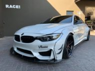 Liberty Walk Widebody BMW M4 F82 Vossen Brembo Tuning 6 190x143 Liberty Walk Widebody BMW M4 F82 Coupe by RACE!