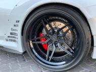 Liberty Walk Widebody BMW M4 F82 Vossen Brembo Tuning 8 190x143 Liberty Walk Widebody BMW M4 F82 Coupe by RACE!