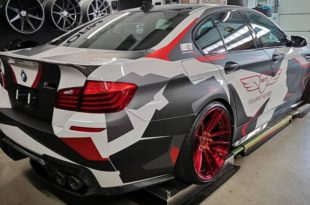 MD BMW M5 F10 Z Performance Tuning Header 310x205 Heftig M&D BMW M5 F10 auf Z Performance Felgen