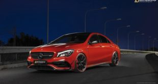 Mercedes CLA 45 AMG C117 Chiptuning 42 310x165 Video: Dieser Mini Cooper mit LS V8 Power hat 600 PS