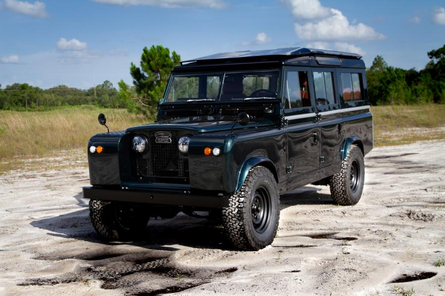 Project Harmony Land Rover Defender Series IIA Tuning V8 15 Project Harmony: ECD Series IIA Defender mit 430 PS V8