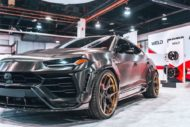 RDBLA BRUSHED BLACK 1016 INDUSTRIES WIDEBODY LAMBORGHINI URUS ADV.1 Wheels 13 190x127 V2 1016 Industries Widebody Kit am Lamborghini Urus