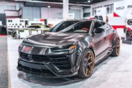 RDBLA BRUSHED BLACK 1016 INDUSTRIES WIDEBODY LAMBORGHINI URUS ADV.1 Wheels 6 190x127 V2 1016 Industries Widebody Kit am Lamborghini Urus