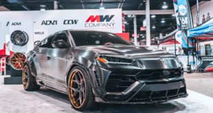 RDBLA BRUSHED BLACK 1016 INDUSTRIES WIDEBODY LAMBORGHINI URUS ADV.1 Wheels 7 310x165 V2 1016 Industries Widebody Kit am Lamborghini Urus