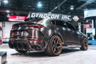 RDBLA BRUSHED BLACK 1016 INDUSTRIES WIDEBODY LAMBORGHINI URUS ADV.1 Wheels 8 190x127 V2 1016 Industries Widebody Kit am Lamborghini Urus