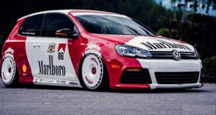 Rotiform Alus Airride Tuning Marlboro VW Golf GTi MK6 8 1 310x165 Rennen Forged R55 Alus am Widebody VW Golf MK6