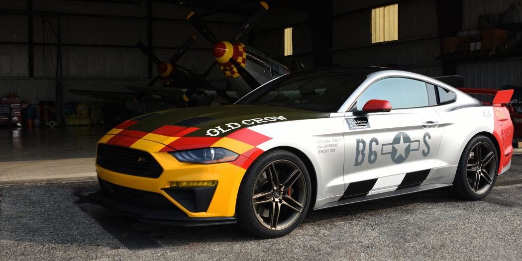 Roush Ford Mustang GT Old Crow Tuning 2019 6 1049x525 Roush Ford Mustang GT Old Crow: Jagdflieger für die Straße