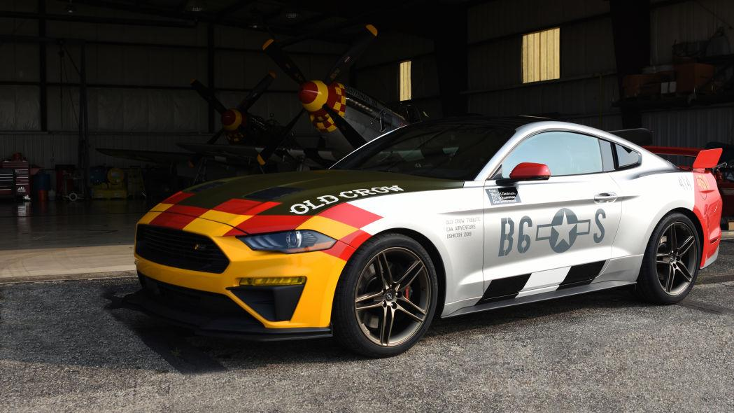 Roush Ford Mustang GT Old Crow Tuning 2019 6 Roush Ford Mustang GT Old Crow: Jagdflieger für die Straße