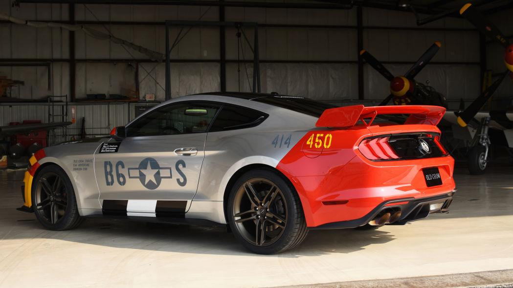 Roush Ford Mustang GT Old Crow Tuning 2019 7 Roush Ford Mustang GT Old Crow: Jagdflieger für die Straße