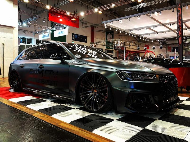 Simon Motorsport Audi RS4 B9 Z Performance Airride Tuning 11 Schwarzes 530 PS Biest   Simon Motorsport Audi RS4 B9