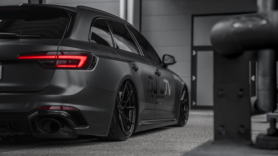 Simon Motorsport Audi RS4 B9 Z Performance Airride Tuning 4 Schwarzes 530 PS Biest   Simon Motorsport Audi RS4 B9